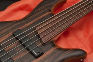 Biarnel liuteria Iter BO FL Ebano dettaglio electric bass