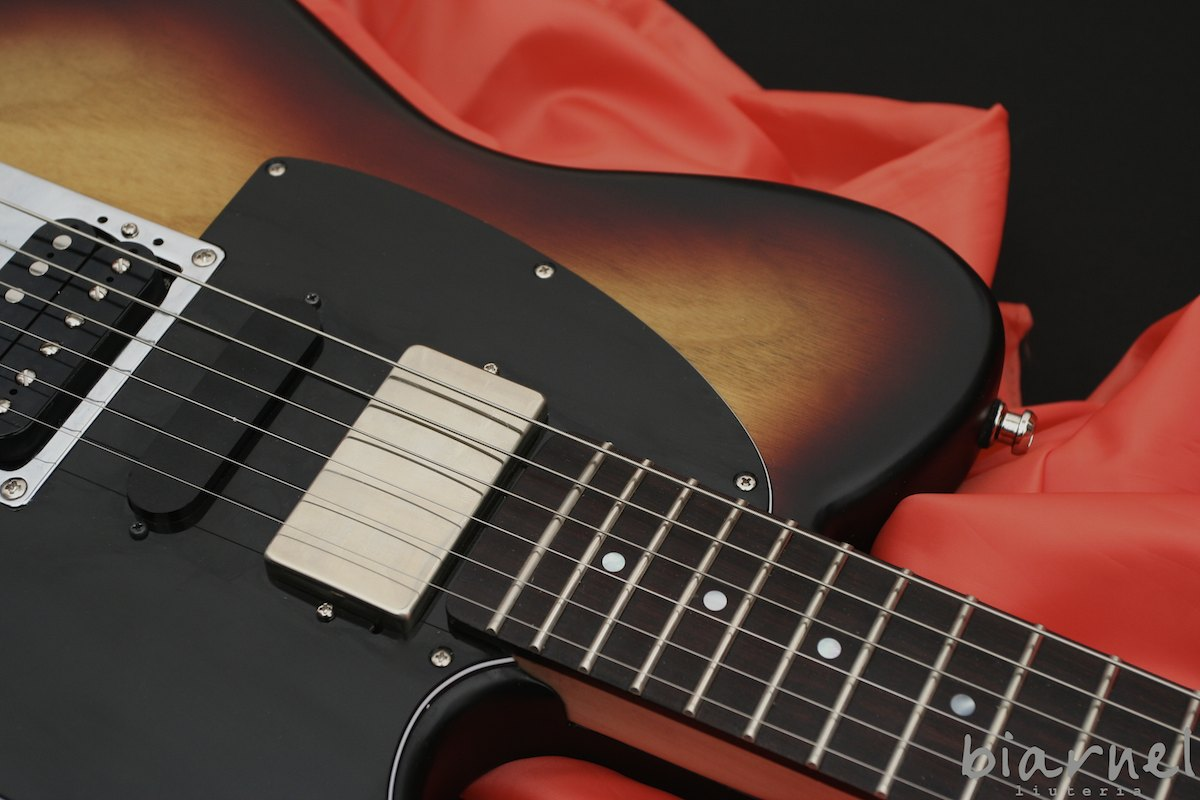 Biarnel Moz Sunburst chitarre liuteria