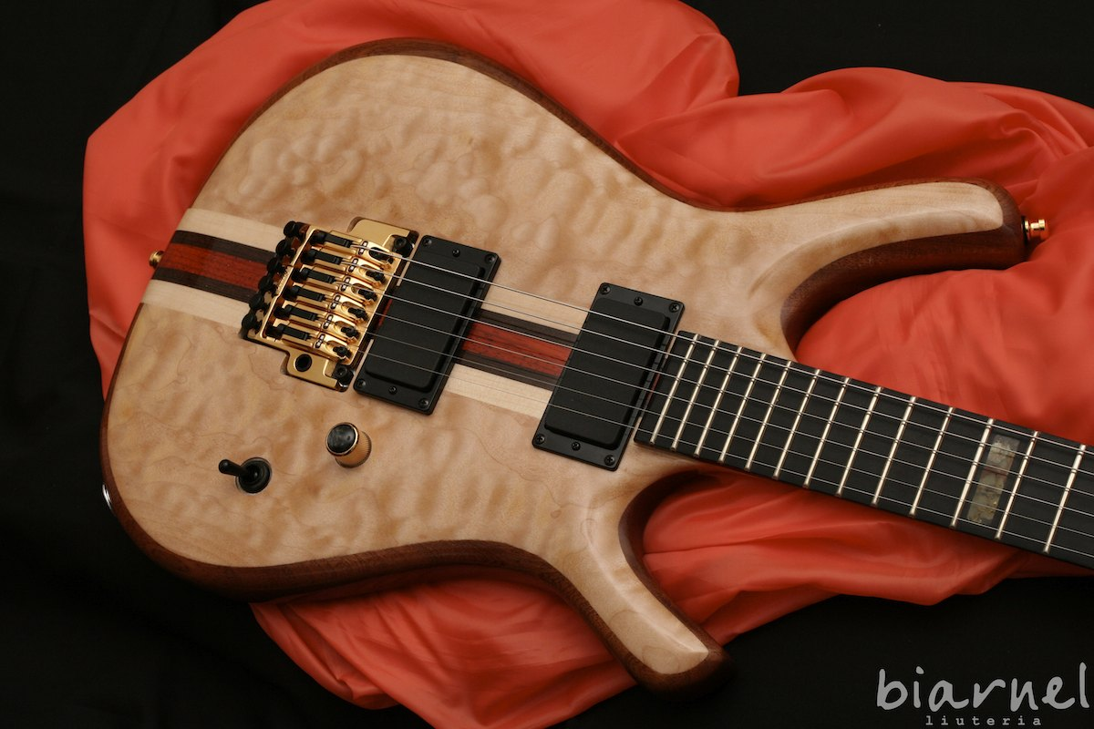 Biarnel piZero chitarra handmade guitar